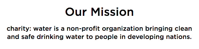 Charity water brand mission statement.png