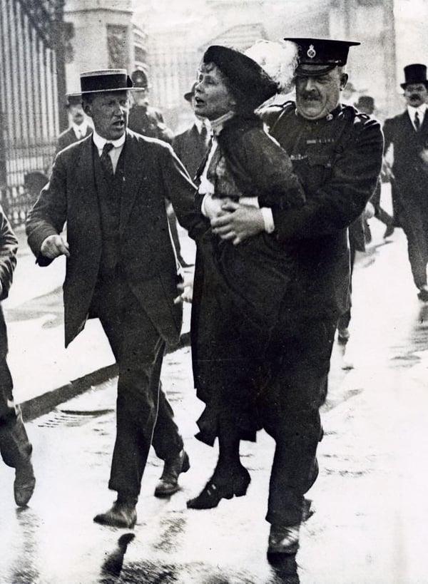 Emmeline_Pankhurst_Arrested_1907-1914