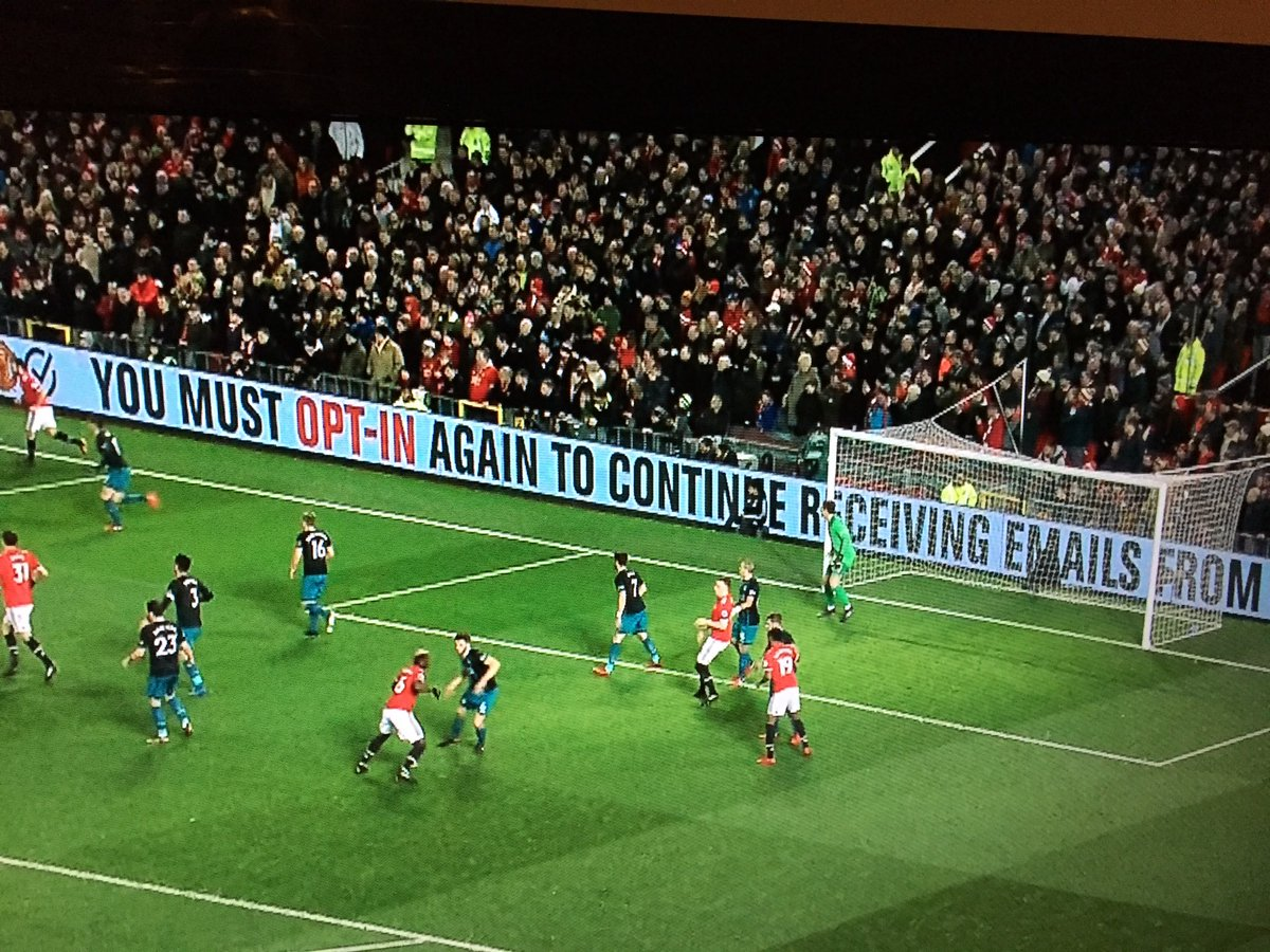 GDPR at Manchester United
