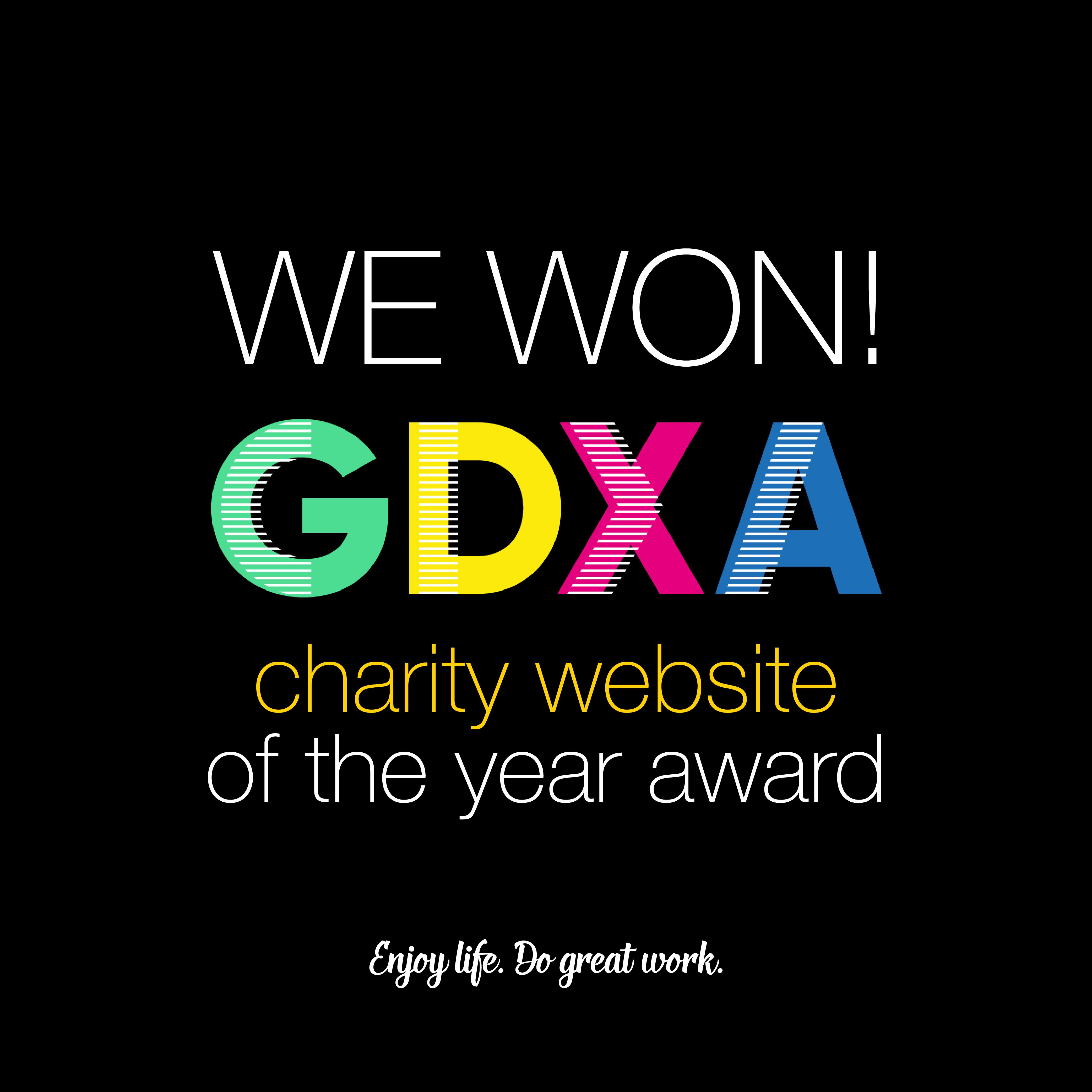 GDXA - Charity Website of the year V1_Instagram