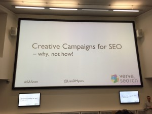 Using creative campaigns for search engine optimisation