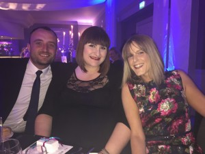Our Design Team at the NECB Awards
