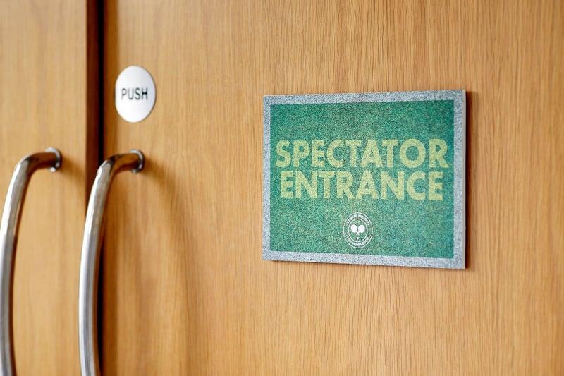 Wimbledon Spectator Entrance