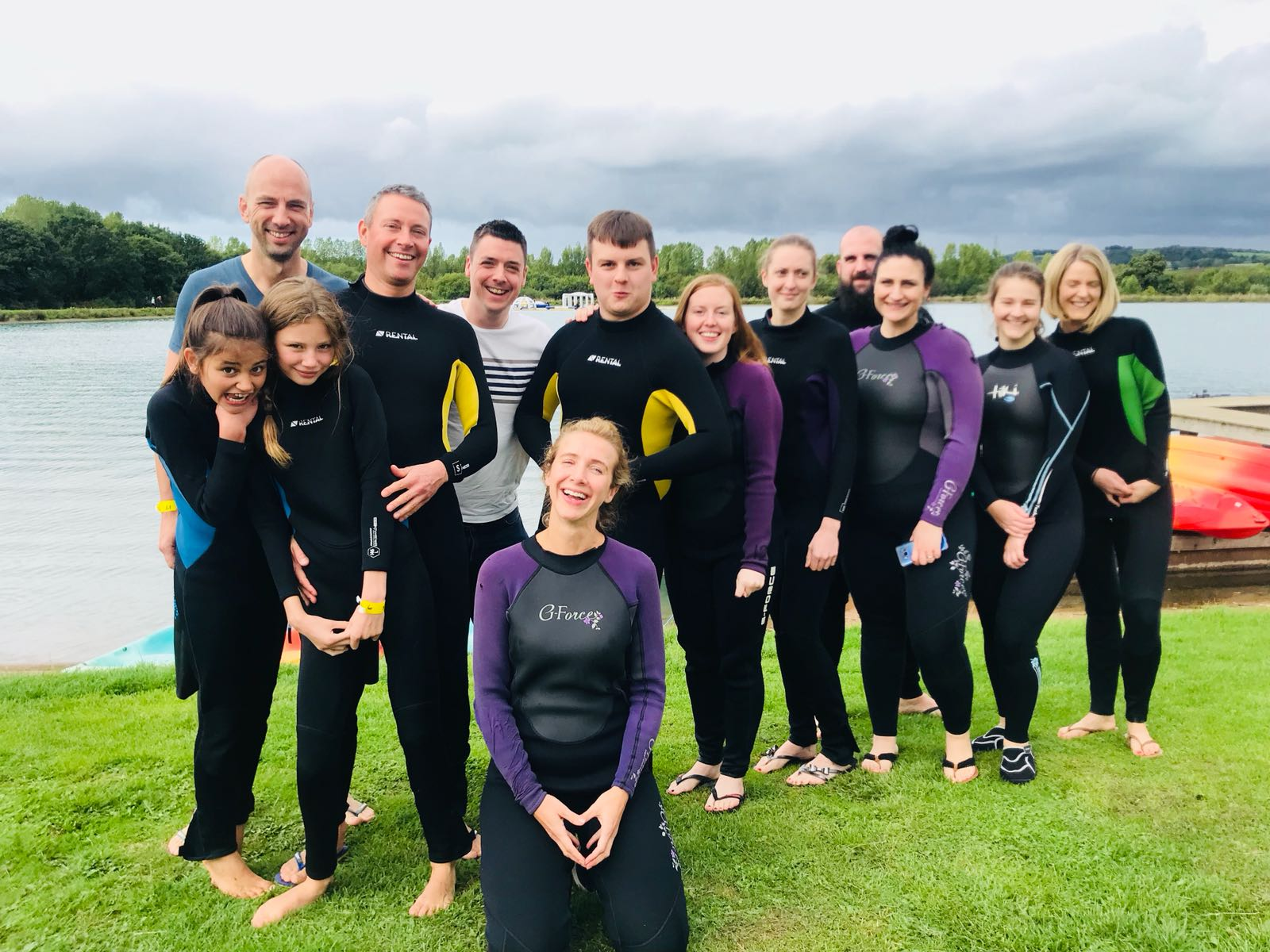 Ultimate team gets ready at Manley Mere