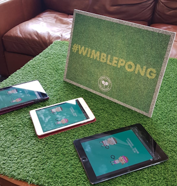 Wimblepong on tablets